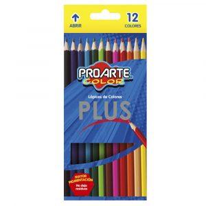 Crayon Plus 12 Colores ProArte