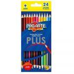 Crayon Plus Doble Punta 24 Colores ProArte