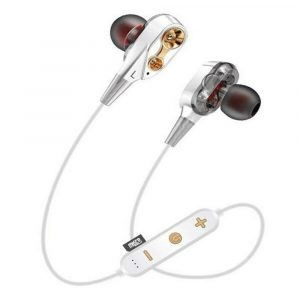 Audífonos Inalámbricos Bluetooth MG-G23 Blancos