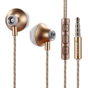 Audífonos Alámbricos M15 Mingge Dorado