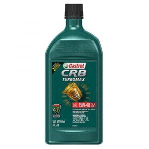 Aceite Castrol 15W40 CRB Turbo Max 1QT