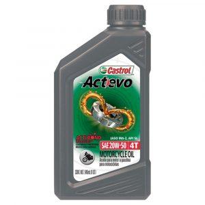 Aceite Castrol 20W50 Actevo para Moto 1QT