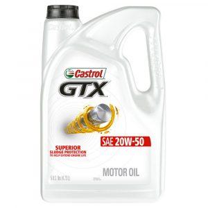 Aceite Castrol 20W50 GTX 5 QTS