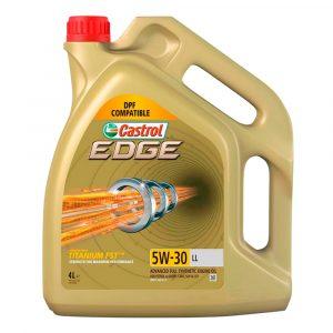 Aceite Castrol 5W30 Edge L  1 Galón para motor a Gasolina y Diésel
