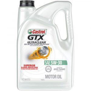 Aceite 5W30 Castrol GTX Ultra Clean 4.7L
