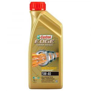 Aceite Castrol 5W40 Edge Turbo Diésel 1QT