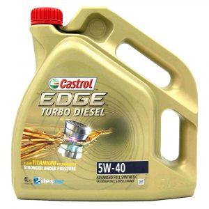 Aceite Castrol 5W40 Edge Turbo Diésel 1 Galón