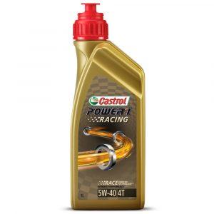 Aceite Castrol 5W40 Power One para moto 1L