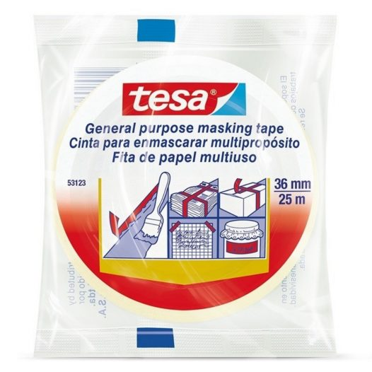 Masking Tape 25m x 36mm Tesa 53123