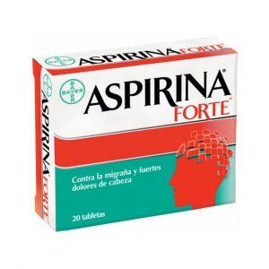 Aspirina Forte Caja de 20 Tabletas