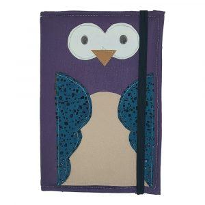 Funda para Tablet de 10 Pulgadas diseño Búho Púrpura