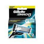 Repuesto para Afeitadoras Mach3 de Gillette (2 Unidades)