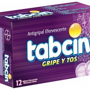Tabcin Gripe Y Tos Efervecente Caja de 12 Tabletas