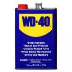 Lubricante Multiusos WD-40 1 Galón
