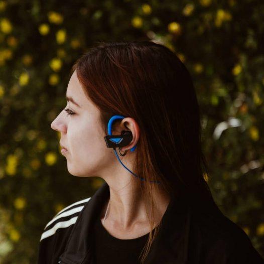 Audifonos Bluetooth Molvu X Azul