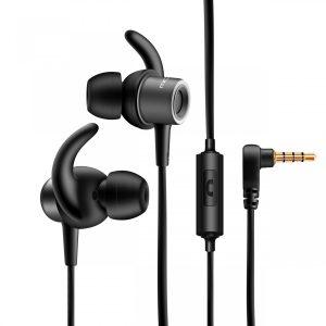 Audifonos Molvu K con Microfono color Negro