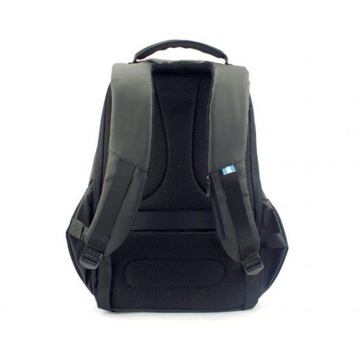 Mochila Molvu GO Negro Antirrobo para Laptop