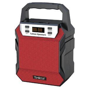 Bocina Bluetooth Tellioz Roja
