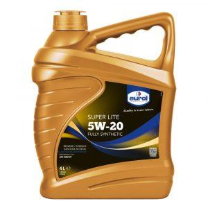 Aceite de Motor 5W-20 Super Lite Eurol 4 Litros