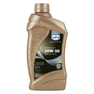Aceite de Motor 20W-50 Turbo Cat Eurol 1 Litro