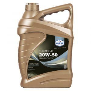 Aceite de Motor 20W-50 Turbo Cat Eurol 5 Litros