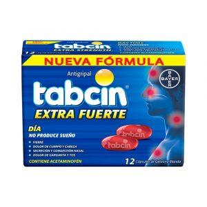 Tabcin Extra Fuerte Dia Gel Caja de 12 Tabletas