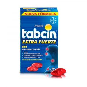 Tabcin Extra Fuerte Dia Gel Caja de 60 Tabletas