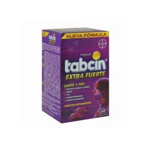 Tabcin Extra Fuerte Gripe y Tos Gel Caja de 60 Tabletas