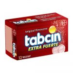 Tabcin Extra Fuerte Efervecente Caja de 12 Tabletas