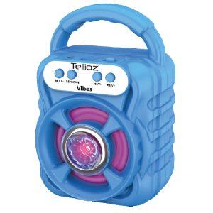 Bocina Bluetooth Portátil Tellioz Azul