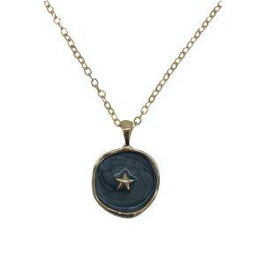 Cadena esmaltada Estrella