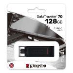 Memoria USB Tipo C de 128GB Kingston DT70