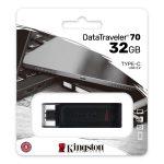 Memoria USB Tipo C de 32GB Kingston DT70 3.2 Gen 1
