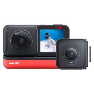Insta360 One R Twin Edition Cámara de Acción Modular 4K y Lente Dual 360
