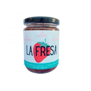Jalea de Fresa Light  100% Natural 250ml