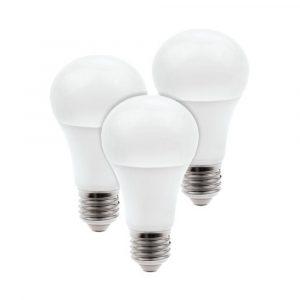 Kit de 3 focos LED Inteligentes Luz de colores RGB Base E27 WiFi