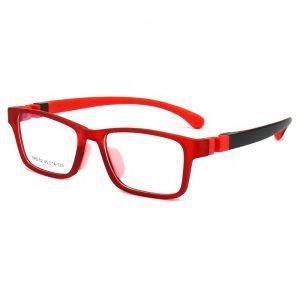 Lentes para niño TR02 Rojo con Negro