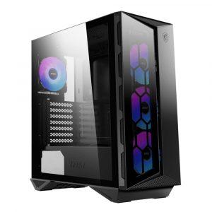 Case Gaming MSI MPG GUNGNIR 110R Negro Media Torre Vidrio Templado ATX Sin Fuente