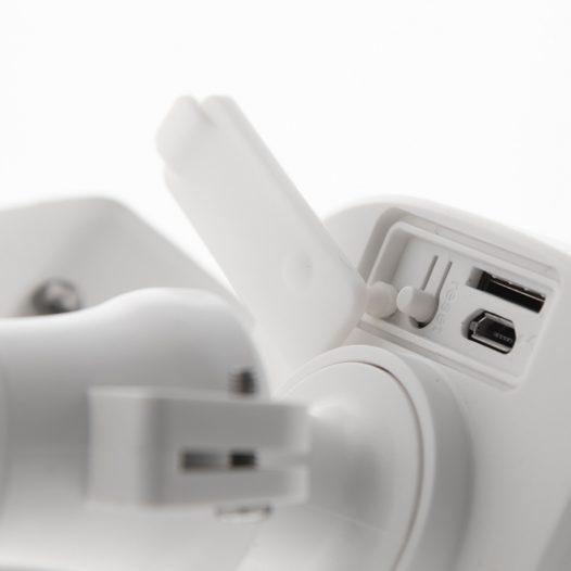 Cámara Inteligente WiFi con Proyectores y Detector de Movimiento NHC-F610 marca Nexxt