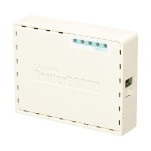 Router de 4 Puertos Gigabit hEX Mikrotik