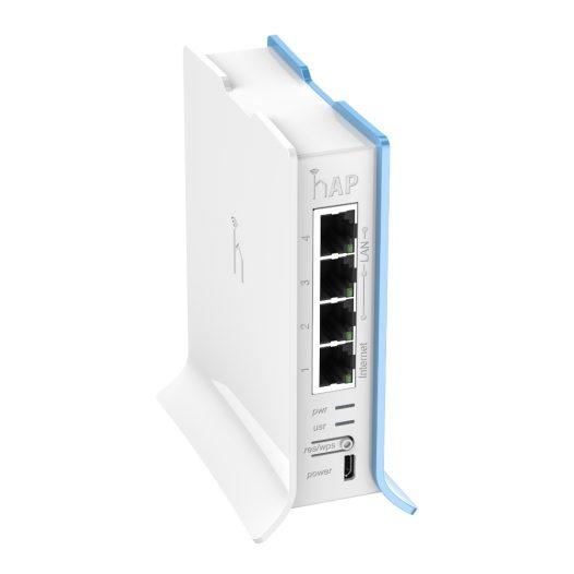MikroTik RouterBOARD hAP lite 4 Puertos Blanco