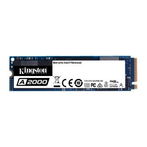 Unidad de Estado Solido de 250GB Kingston A2000 M.2 2280