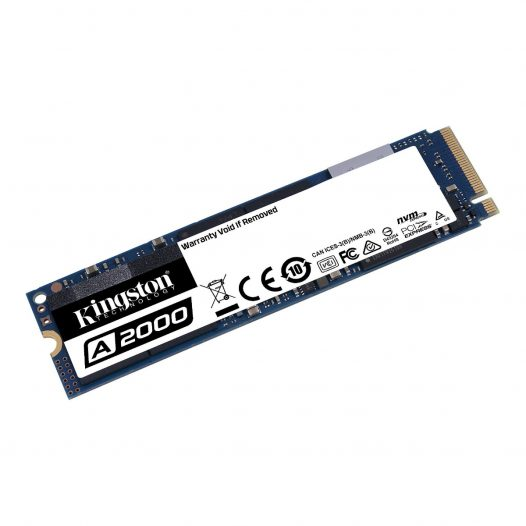 Unidad de Estado Solido de 250GB Kingston A2000 M.2 2280