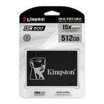 """Unidad de Estado Solido de 512GB Kingston KC600 2.5"""""""