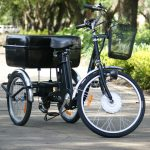 Triciclo Eléctrico Try-bike color Negro