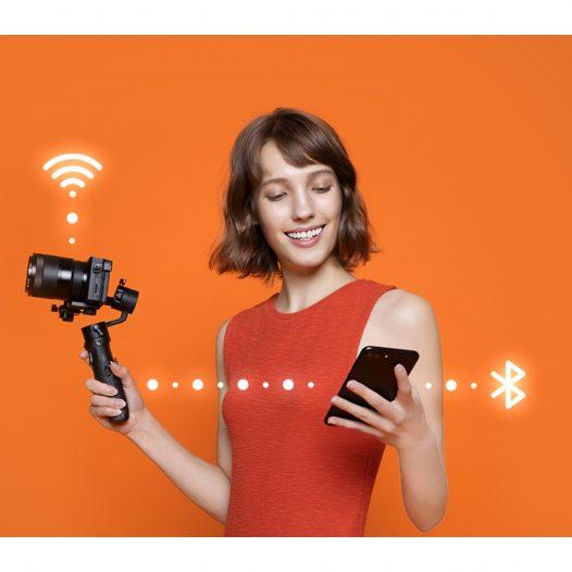 Zhiyun Crane M2 Estabilizador de 3 Ejes para Smarthphone, Cámaras y Cámaras de acción.