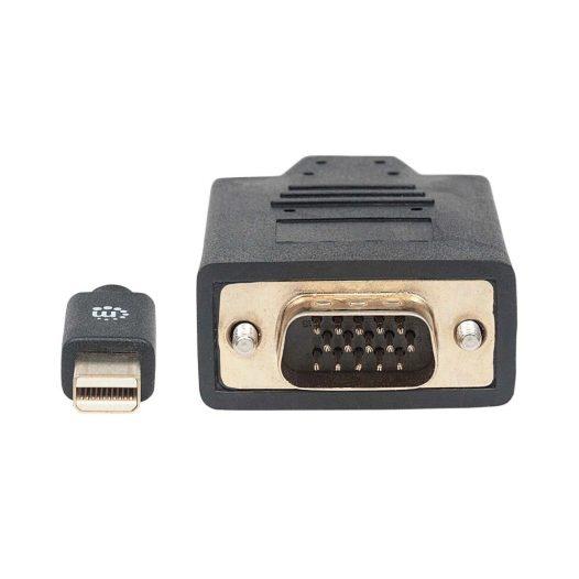 Cable de Mini DisplayPort 1.2 a VGA 1.8 Metros Negro
