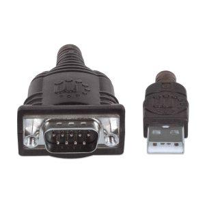 Cable Serial a USB 45 centimetros Manhattan