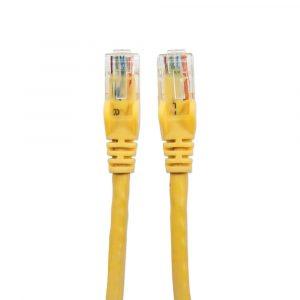 Cable de Red UTP RJ45 Cat6E 50 Centímetros Amarillo Intellinet