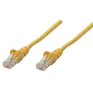 Cable de Red UTP RJ45 Cat5E 15 Centímetros Amarillo Intellinet